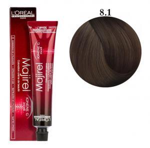 Крем-краска для волос L'Oreal Professionnel Majirel №8/1 Светлый блондин пепельный 50 мл - 00-00004660
