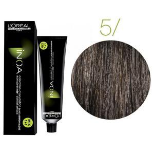 Крем-фарба для волосся L'Oreal Professionnel INOA Mix 1+1 №5 Світлий шатен 60 мл - 00-00004675