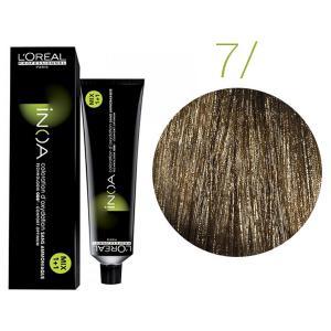 Крем-краска для волос L'Oreal Professionnel INOA Mix 1+1 №7 Глубокий блонд 60 мл - 00-00004677