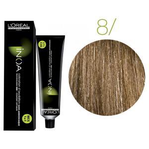 Крем-фарба для волосся L'Oreal Professionnel INOA Mix 1+1 №8 Світлий блонд 60 мл - 00-00004678