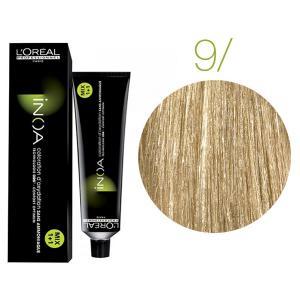 Крем-краска для волос L'Oreal Professionnel INOA Mix 1+1 №9 Очень светлый блонд 60 мл - 00-00004679
