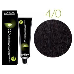 Крем-фарба для волосся L'Oreal Professionnel INOA Mix 1+1 №4/0 Інтенсивний темний кашатан 60 мл - 00-00004682