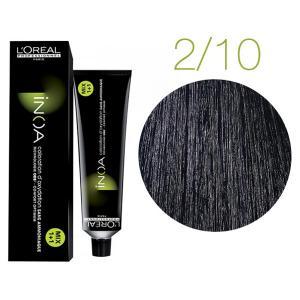 Крем-фарба для волосся L'Oreal Professionnel INOA Mix 1+1 №2/10 Schwarzblau 60 мл - 00-00004686