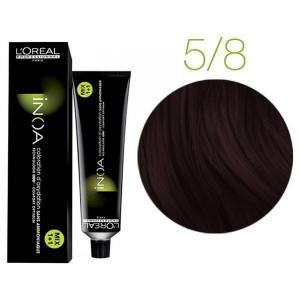 Крем-краска для волос L'Oreal Professionnel INOA Mix 1+1 №5/8 Светлый шатен мокко 60 мл - 00-00004702