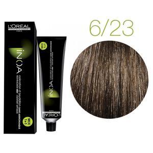 Крем-краска для волос L'Oreal Professionnel INOA Mix 1+1 №6/23 Шоколадный трюфель 60 мл - 00-00004715