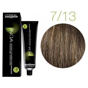 Крем-краска для волос L'Oreal Professionnel INOA Mix 1+1 №7/13 Медовый натуральный блонд 60 мл - 00-00004717