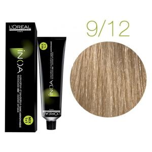 Крем-краска для волос L'Oreal Professionnel INOA Mix 1+1 №9/12 Золотисто-пепельный блонд 60 мл - 00-00004720