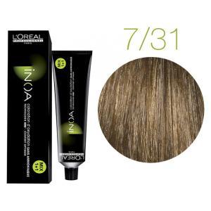 Крем-краска для волос L'Oreal Professionnel INOA Mix 1+1 №7/31 Бежевая корица 60 мл - 00-00004727
