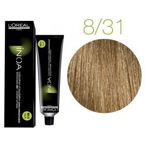 Крем-краска для волос L'Oreal Professionnel INOA Mix 1+1 №8/31 Светлый русый 60 мл - 00-00004729