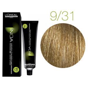 Крем-краска для волос L'Oreal Professionnel INOA Mix 1+1 №9/31 Бежевая корица 60 мл - 00-00004730