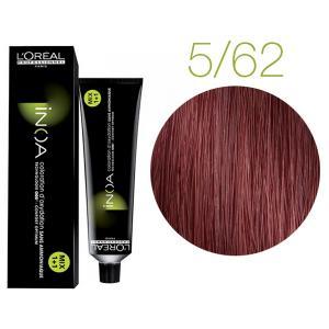 Крем-фарба для волосся L'Oreal Professionnel INOA Mix 1+1 №C5/62 Червоний з коричневим відтінком 60 мл - 00-00004737