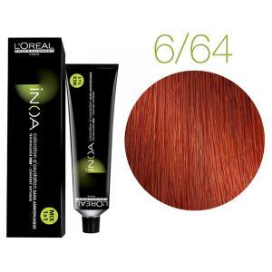 Крем-фарба для волосся L'Oreal Professionnel INOA Mix 1+1 №C6/64 Мідний з червоним відтінком 60 мл - 00-00004739