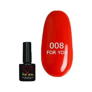 Гель-лак для ногтей For You №008 8 мл - 00-00004761