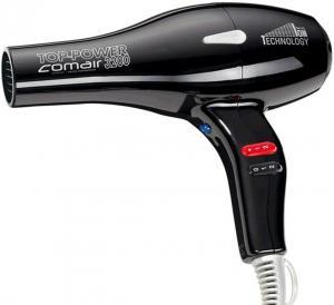 Фен для волосся Comair Top Power 3200 чорний  - 00-00005306