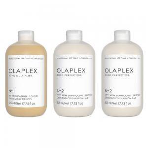 Набір для захисту волосся під час фарбування Olaplex 3 шт.*525 мл. - 00-00005566