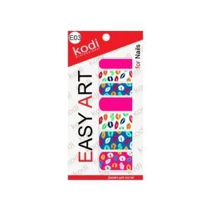 Наклейки для дизайна ногтей Kodi Professional Easy Art E03
