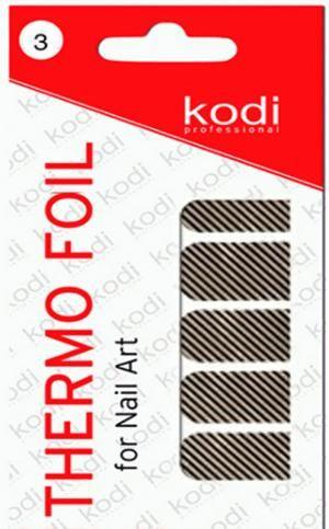 Термо фольга для дизайну нігтів Kodi Professional №003