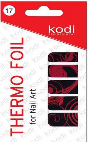 Термо фольга для дизайну нігтів Kodi Professional №017