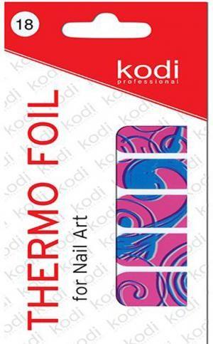 Термо фольга для дизайну нігтів Kodi Professional №018