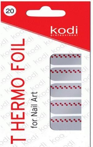 Термо фольга для дизайну нігтів Kodi Professional №020