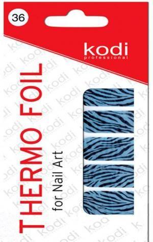 Термо фольга для дизайну нігтів Kodi Professional №036