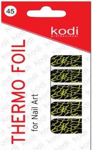 Термо фольга для дизайну нігтів Kodi Professional №045