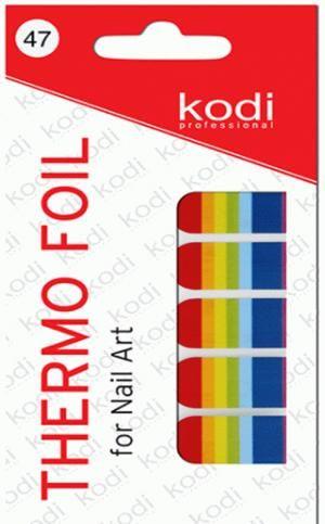 Термо фольга для дизайну нігтів Kodi Professional №047