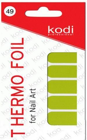Термо фольга для дизайну нігтів Kodi Professional №049