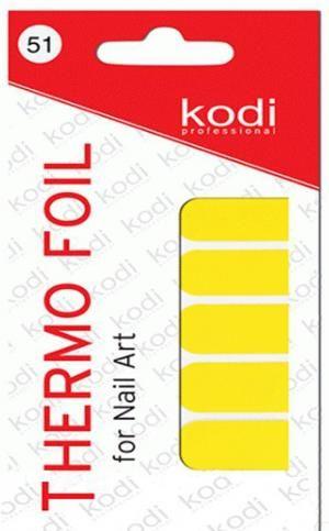 Термо фольга для дизайну нігтів Kodi Professional №051