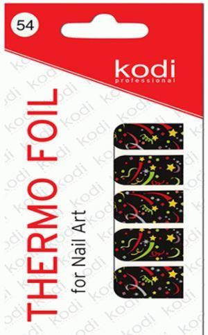Термо фольга для дизайну нігтів Kodi Professional №054