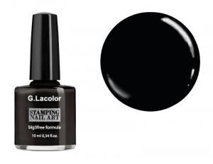 Лак для стемпінгу G. Lacolor №001 10 мл - 00-00006037
