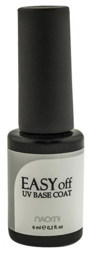 Основа для гель-лака Naomi Easy Off UV Base Coat 6 мл - 00-00006284