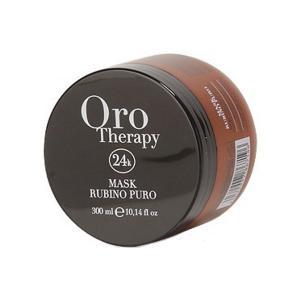 Рубінова маска з кератином для фарбованого волосся Fanola Oro Therapy 300 мл - 00-00006512