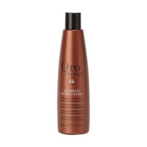 Рубиновый шампунь с кератином для окрашенных волос Fanola Oro Therapy 300 мл - 00-00006513