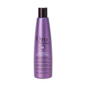 Сапфировый шампунь с кератином для светлых волос Fanola Oro Therapy 300 мл - 00-00006514