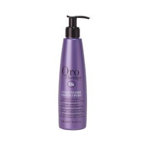 Сапфіровий кондиціонер з кератином для світлого волосся Fanola Oro Therapy 300 мл - 00-00006613