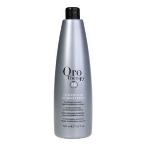 Бриллиантовый шампунь с кератином для реконструкции волос Fanola Oro Therapy 1000 мл - 00-00006617