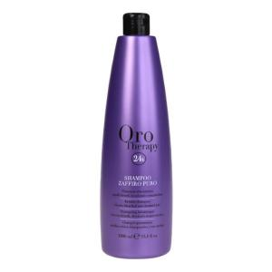 Сапфировый шампунь с кератином для светлых волос Fanola Oro Therapy 1000 мл - 00-00006619