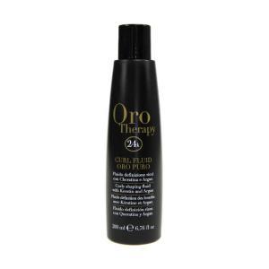 Флюид для локонов с кератином и маслом арганы Fanola Oro Therapy 200 мл - 00-00006625