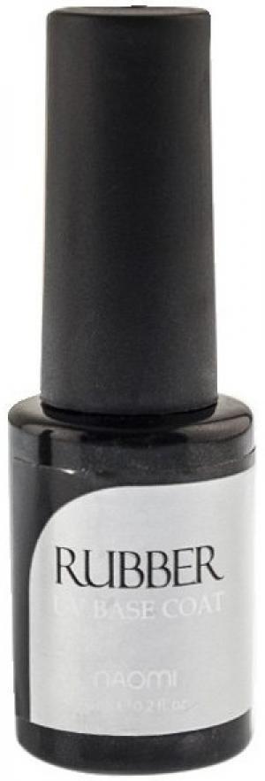 Каучукове базове покриття для гель-лаку Naomi Rubber Gel Polish 6 мл - 00-00006682
