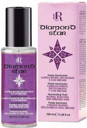 Флюїд для світлого, знебарвленого та мелірованого волосся RR Line Diamond Star 100 мл - 00-00006688
