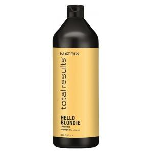 Шампунь для сияния светлых волос Matrix Total Results Hello Blondie 1000 мл - 00-00006712