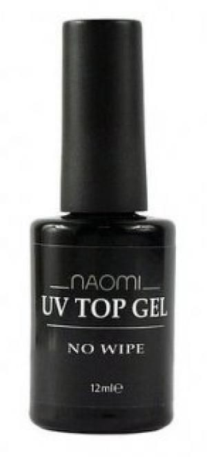 Закріплювач для гель-лаку Naomi UV Top Gel No Wipe Warm 12 мл - 00-00006913