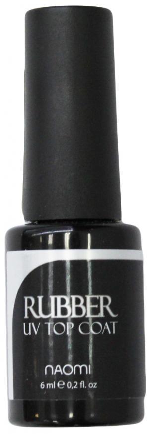 Каучуковий закріплювач для гель-лаку Naomi Rubber UV Top Coat 6 мл - 00-00006914