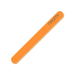 Пилка для нігтів Naomi 180/180 оранжева - 00-00007044