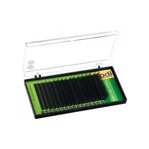 Вії для нарощення, чорні Kodi Professional Green №В.0.07 16 рядів: 14 мм