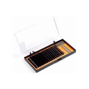 Вії для нарощення, чорні Kodi Professional Butterfly №В.0.15 16 рядів: 13 мм