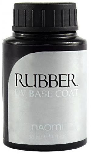 Основа под гель-лак Naomi Rubber UV Base Coat 30 мл - 00-00007192