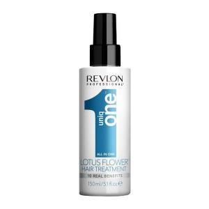Спрей для волосся з ароматом квітки лотоса Revlon Professional Uniq One All in One 150 мл - 00-00007256