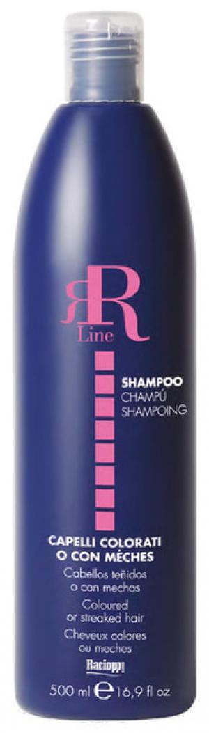 Шампунь для фарбованого волосся RR Line 500 мл - 00-00007270